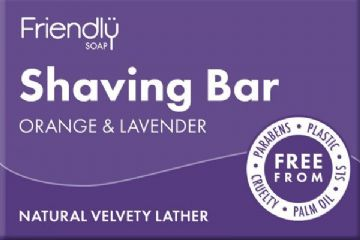 Shaving Bar (Orange &  Lavender)
